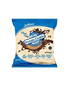 [紐西蘭 Justine's] 蛋白餅乾-香草巧克力(64g/片)