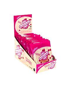 [紐西蘭 Justine's] 蛋白餅乾-覆盆子白巧克力(12個/盒)