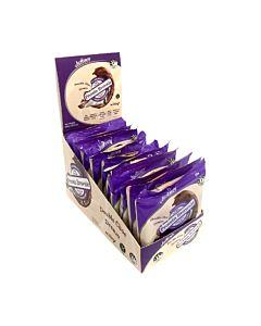 [紐西蘭 Justine's] 蛋白布朗尼-雙倍巧克力(12個/盒)