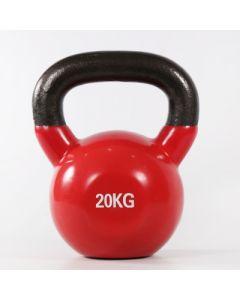 [ABsport] 包膠壺鈴20kg-紅