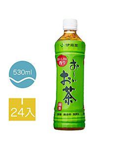 [伊藤園] 綠茶 (24入組/每罐530ml)