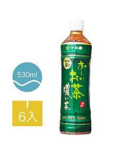 [伊藤園] 濃味綠茶 (6入組/每罐530ml)