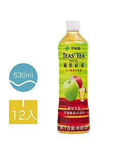 [伊藤園] 蘋果紅茶 (12入組/每罐530ml)