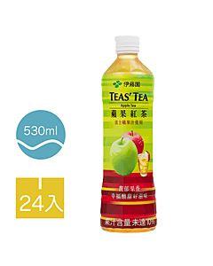 [伊藤園] 蘋果紅茶 (24入組/每罐530ml)
