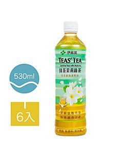 [伊藤園] 抹茶茉莉綠茶 (6入組/每罐530ml)
