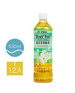 [伊藤園] 抹茶茉莉綠茶 (12入組/每罐530ml)