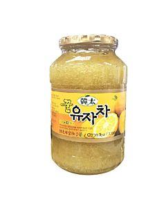 [韓太] 韓國黃金蜂蜜茶組合(柚子x2+蘋果x1三入組)