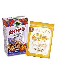 [義大利Venosta] 蜂蜜野莓燕麥片 (375g/盒)
