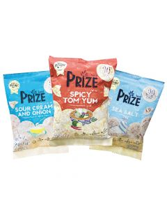 [Prize Snack] 爆米圓餅3入超值組(20g/包)