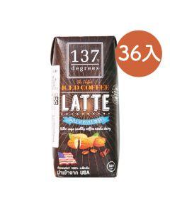 [137 degrees] 咖啡拿鐵杏仁堅果奶 (180mlx36入/箱)