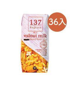[137 degrees] 原味核桃堅果奶(180mlx36入/箱)