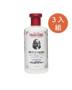 [Thayers] 金縷梅化妝水-薰衣草355ml(3入組)