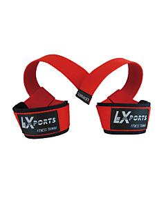 [LEXPORTS]專業級重訓健身高拉力帶-紅色
