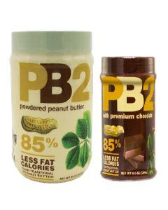 [PB2] 大粉狀花生醬+小粉狀可可花生醬 (各一罐)