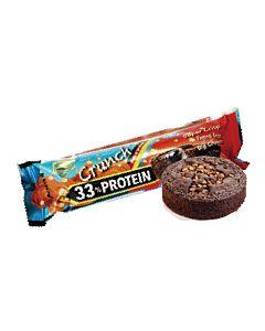 [德國 Z-Konzept] 33%酥脆蛋白棒-黑巧克力布朗尼風味(50g*24條/盒)