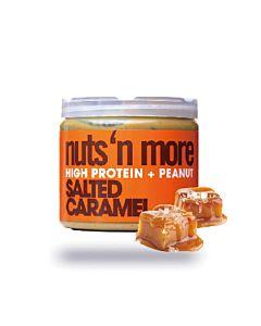 [美國 Nuts' n More] 焦糖海鹽高蛋白花生醬(454g/罐)