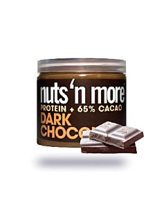 [美國 Nuts' n More]65%黑可可高蛋白花生醬(454g/罐)