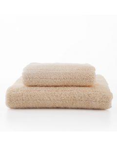 [日本桃雪] 今治超長棉浴巾+毛巾(咖啡色)