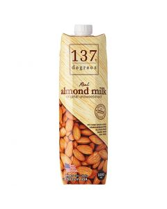 [137 degrees] 無加糖杏仁堅果奶 (1000ml/罐)