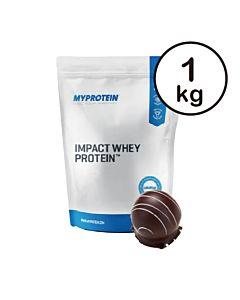 [英國 Myprotein] 濃縮乳清蛋白-柔滑巧克力(1kg/袋)