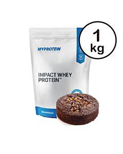 [英國 Myprotein] 濃縮乳清蛋白-巧克力布朗尼(1kg/包)
