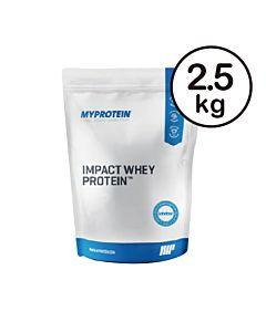 [英國 Myprotein] 濃縮乳清蛋白-原味(2.5kg/包)