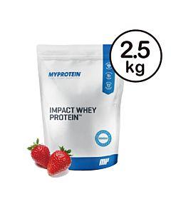 [英國 Myprotein] 濃縮乳清蛋白-天然草莓(2.5kg/包)