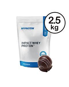 [英國 Myprotein] 濃縮乳清蛋白-柔滑巧克力(2.5kg/包)