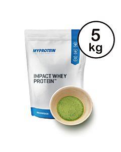 [英國 Myprotein] 濃縮乳清蛋白-抹茶(5kg/袋)