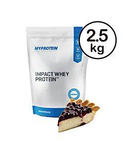 [英國 Myprotein] 濃縮乳清蛋白-藍莓起司蛋糕(2.5kg/包)