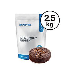 [英國 Myprotein] 濃縮乳清蛋白-巧克力布朗尼(2.5kg/包)