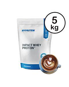 [英國 Myprotein] 濃縮乳清蛋白-摩卡(5kg/包)