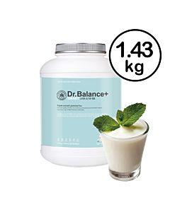 [韓國 Dr. Balance+] 乳清蛋白-清爽優格(1.43kg/罐)(含湯匙