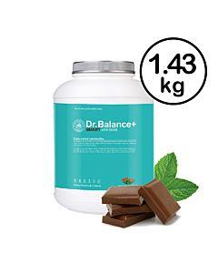 [韓國 Dr. Balance+] 乳清蛋白-薄荷巧克力(1.43kg/罐)(含湯匙)