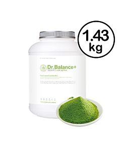 [福利品][韓國 Dr. Balance+] 乳清蛋白-濃醇抹茶(1.43kg/罐)(不含湯匙)