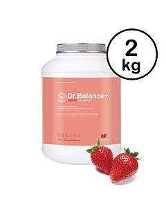 [韓國 Dr. Balance+] 乳清蛋白-繽紛草莓(2kg/罐)(含湯匙)