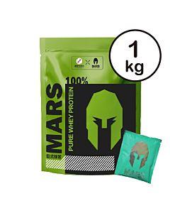 [台灣 Mars戰神] 低脂乳清-抹茶(1kg/包)