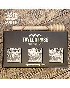 [紐西蘭TaylorPass] 活性麥蘆卡蜂蜜 UMF10+(375g x 3瓶)