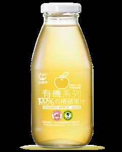 [可美特] 有機蘋果汁24入組(295ml/瓶)