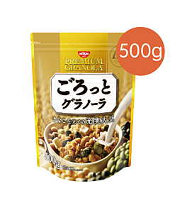 [日清Nissin]大豆穀物麥片(500g/袋)