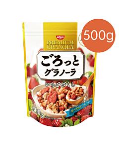 [日清 Nissin] 草莓穀物麥片(500g/包)