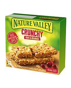 [NATURE VALLEY 天然谷] 纖穀派-蔓越莓燕麥 (42gx5包x5盒)