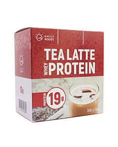 [自有品牌 Daily Boost] 運動乳清蛋白粉-紅茶拿鐵(7包/盒)
