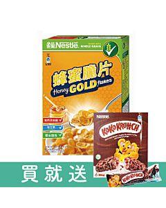 [雀巢] 小朋友系列-蜂蜜脆片早餐脆片 (370g/盒)