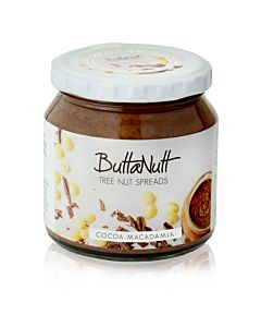 [ButtaNutt] 可可夏威夷豆醬(250g/罐)