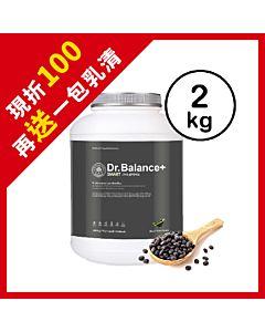 [韓國 Dr. Balance+] 乳清蛋白-醇香黑豆(2kg/罐)(含湯匙)