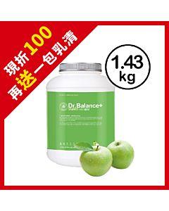 [韓國 Dr. Balance+] 乳清蛋白-酸甜蘋果(1.43kg/罐)(含湯匙)