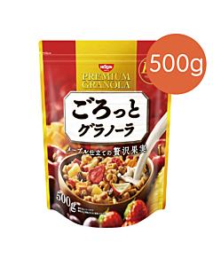 [日清Nissin]奢華楓糖水果麥片(500g/袋)