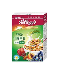 [家樂氏] Mueslix 什錦果麥-葡萄、蘋果、桃、杏仁果、南瓜籽口味(375g/盒)