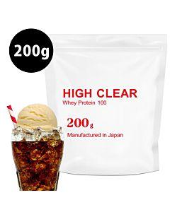 [日本 High Clear] 濃縮乳清蛋白-漂浮可樂口味(200g/袋)